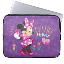 Minnie | Helping Heart Computer Sleeve