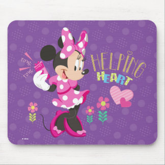 Minnie | Helping Heart Mouse Pad