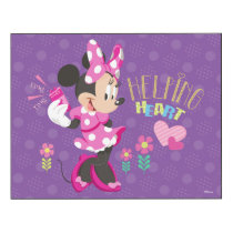 Minnie | Helping Heart Wood Print