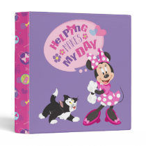 Minnie | Helping Makes My Day 3 Ring Binder