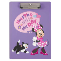 Minnie | Helping Makes My Day Clipboard