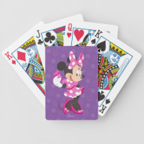 Minnie | I Believe in Me Bicycle Playing Cards