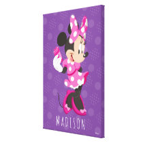 Minnie | I Believe in Me Canvas Print