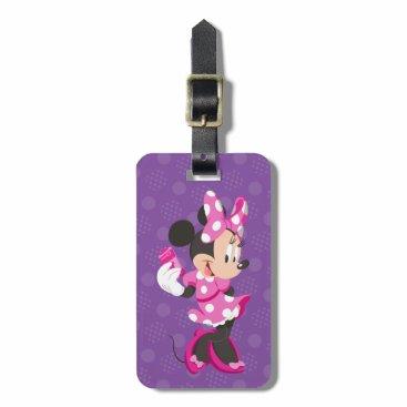 Disney Themed Minnie   I Believe in Me Luggage Tag