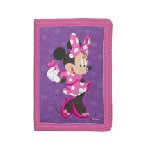 Minnie | I Believe in Me Tri-fold Wallets