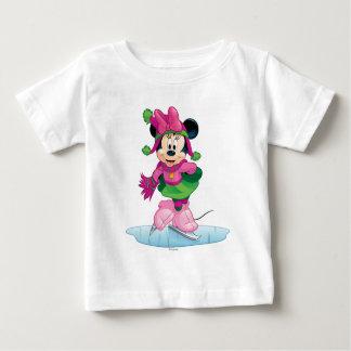 Minnie Ice Skating Baby T-Shirt