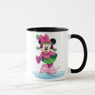 Minnie Ice Skating Mug