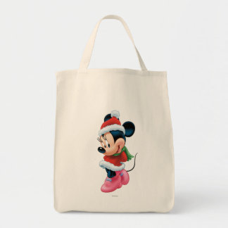 Minnie in Holiday Outfit Bags