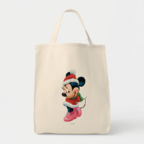 Minnie in Holiday Outfit Tote Bag