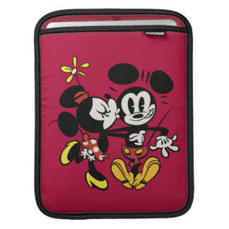 Minnie Kissing Mickey Sleeves For iPads