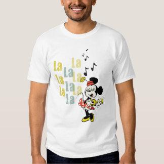 Minnie - La del La del La Playeras