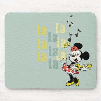 Minnie - La del La del La Mouse Pad