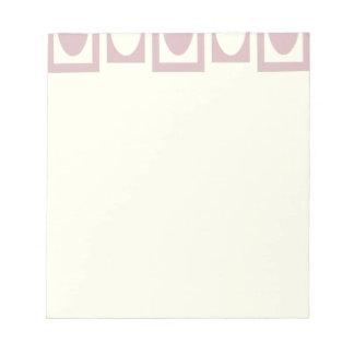 Minnie Mauve 2 Notepad