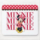 Minnie Minnie Minnie Mouse Pad