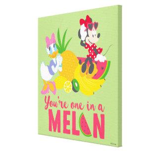 Minnie Mouse Daisy Duck Canvas Art Prints Zazzle