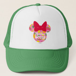 Minnie | Minnie Tropical Logo 2 Trucker Hat