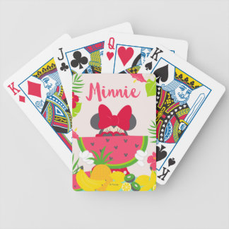 Minnie | Minnie's Tropical Adventure Bicycle Playing Cards