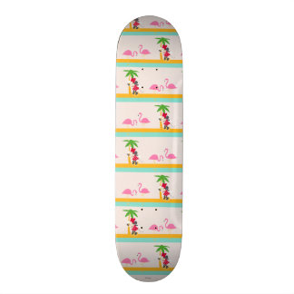 Minnie | Minnie's Tropical Pattern Skateboard Deck