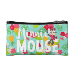 Minnie | Minnie's Tropical Pose Makeup Bag