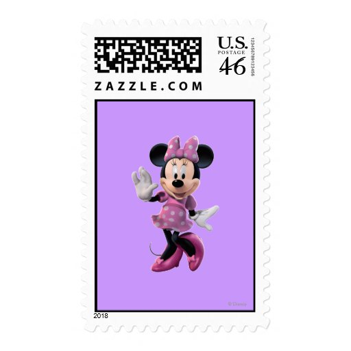 Minnie Mouse 1 Franqueo