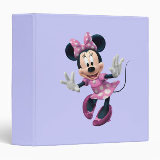 Minnie Mouse 2 Carpeta 1 1/2""
