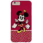 Minnie Mouse 4 Funda De iPhone 6 Plus Barely There