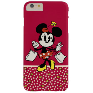 Minnie Mouse 4 Funda Para iPhone 6 Plus Barely There