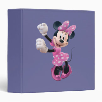 Minnie Mouse 5 Carpeta 1 1/2""