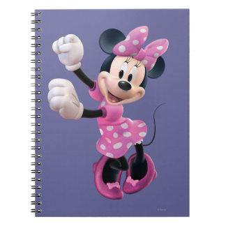 Minnie Mouse 5 Libretas Espirales