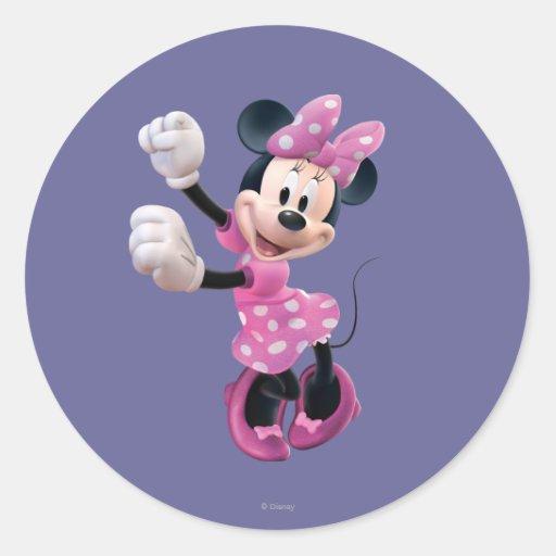 Minnie Mouse 5 Sticker | Zazzle
