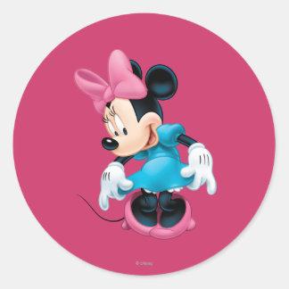 Minnie Mouse 6 Classic Round Sticker