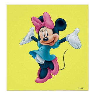 Minnie Mouse 8 Póster