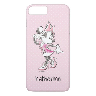 Minnie Mouse | All about the Eyelash | Your Name iPhone 8 Plus/7 Plus Case