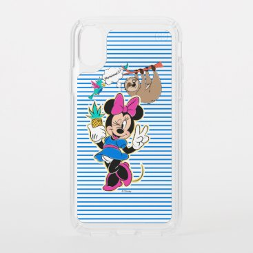 Minnie Mouse and Sloth | Photobomb Speck iPhone XS Case