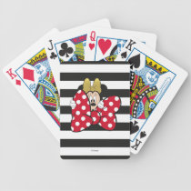 Minnie Mouse | Bow Tie Bicycle Playing Cards