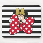 Minnie Mouse   Bow Tie Mouse Pad
