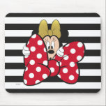 "Minnie Mouse | Bow Tie Mouse Pad<br><div class=""desc"">Officially licensed Minnie Mouse artwork. A fun design that showcases a Minnie Mouse - Bow Tie.</div>"