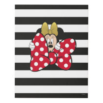 Minnie Mouse | Bow Tie Panel Wall Art