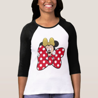 Minnie Mouse   Bow Tie T-Shirt