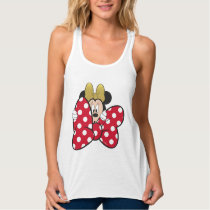 Minnie Mouse | Bow Tie Tank Top