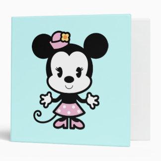 Minnie Mouse Cartoon 3 Ring Binders