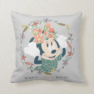 Minnie Mouse | Chase Adventure Throw Pillow