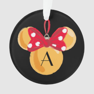 Minnie Mouse Christmas Ornament