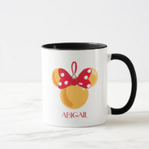 Minnie Mouse Christmas Ornament Mug