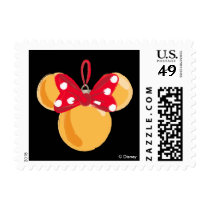 Minnie Mouse Christmas Ornament Postage
