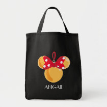 Minnie Mouse Christmas Ornament Tote Bag