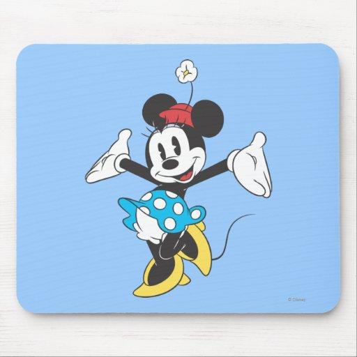 Minnie Mouse clásica 2 Alfombrilla De Raton