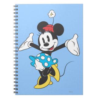 Minnie Mouse clásica 2 Libretas