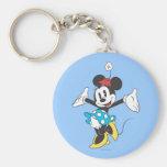 Minnie Mouse clásica 2 Llaveros