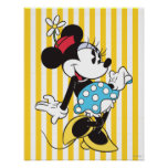 Minnie Mouse clásica 3 Póster